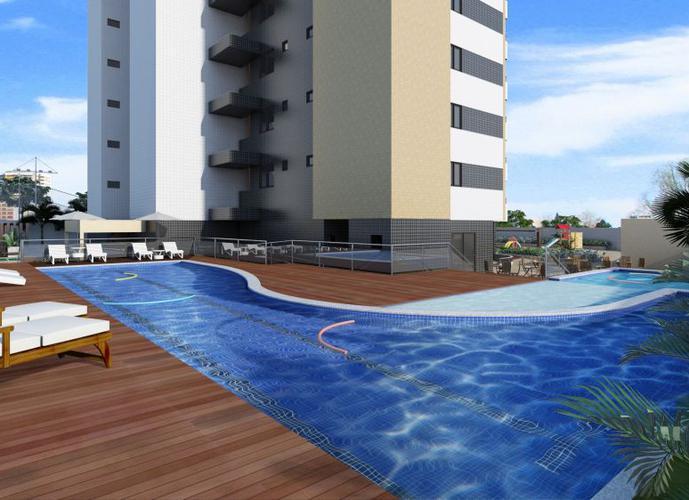 03 Suítes, Varanda e DCE completa, no Farol! - Apartamento a Venda no bairro Farol - Maceió, AL - Ref: PI71233