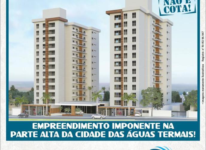 Apartamentos Parcelados com 2 quartos em Caldas Novas - Apartamento a Venda no bairro Jardim Belvedere - Caldas Novas, GO - Ref: YU70019