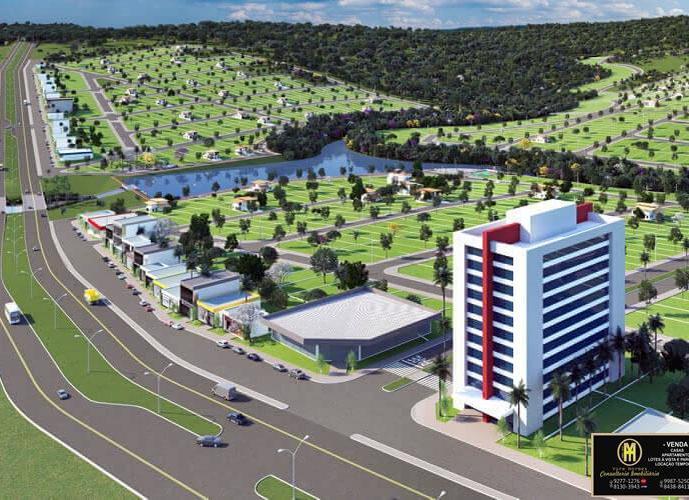 Lotes comerciais Parcelados Reserva ville Caldas Novas - Lote a Venda no bairro Estancia Boa Vista - Caldas Novas, GO - Ref: YH74767