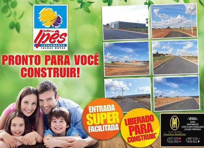 Loteamento Jardim dos IPÊS - Lote a Venda no bairro Serrano - Caldas Novas, GO - Ref: YH90628