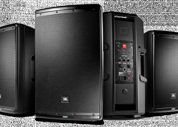 Caixa Ativa Amplificada Eon612 Jbl Pro 1000w Rms