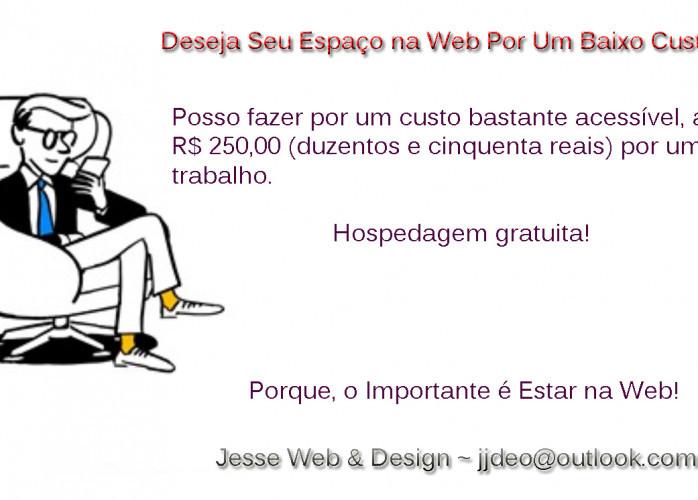 Serviços Web & Design ~ Seu Site na Web Por Um Preço Econômico