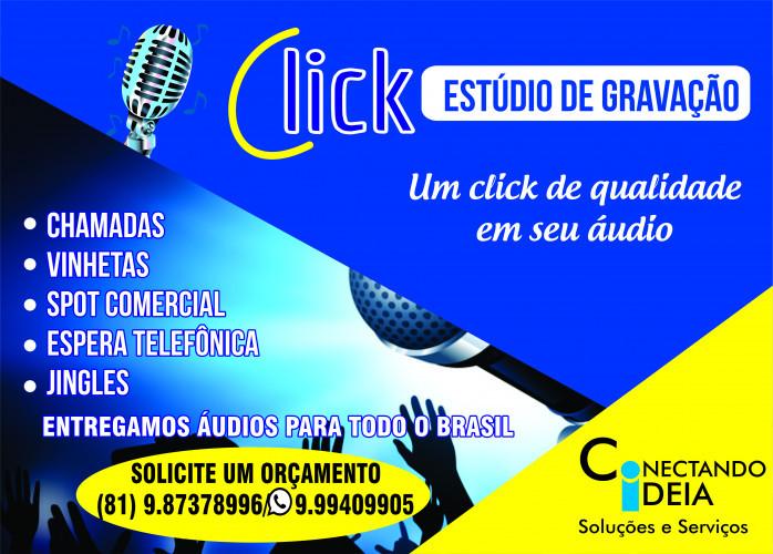 Click estúdio de gravação