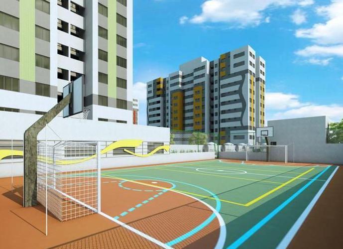 Bossa Nova Condomínio Clube - Apartamento a Venda no bairro Jabotiana - Aracaju, SE - Ref: SA40324