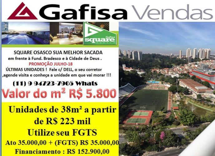 Square Osasco  Cidade de Deus - Apartamento a Venda no bairro Vila Campesina - Osasco, SP - Ref: DE76041