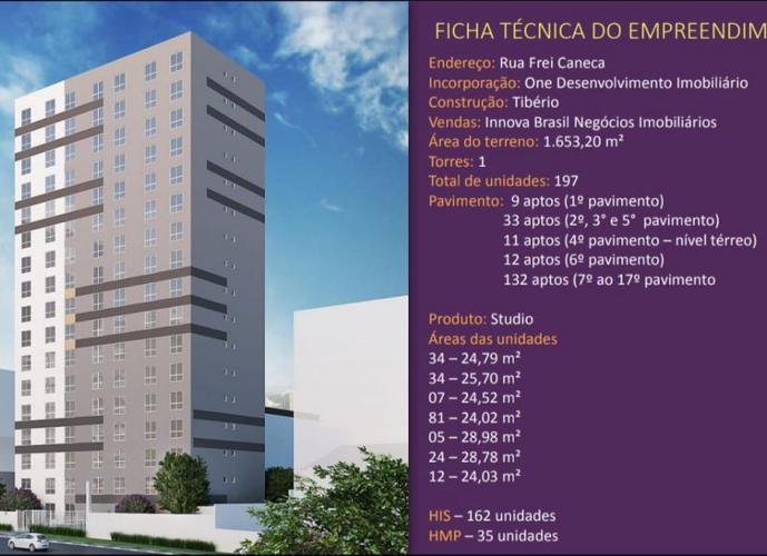 Mobi One Frei Caneca - Apartamento a Venda no bairro Consolação - São Paulo, SP - Ref: AP076