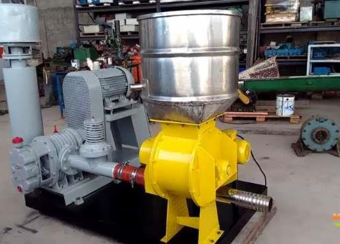Soprador transportador pneumático gelo (219635)