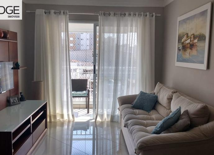 Apartamento a Venda no bairro Barcelona em São Caetano do Sul - SP. 2 banheiros, 3 dormitórios, 1 suíte, 2 vagas na garagem, 1 cozinha,  área de serviço,  sala de estar,  sala de jantar.