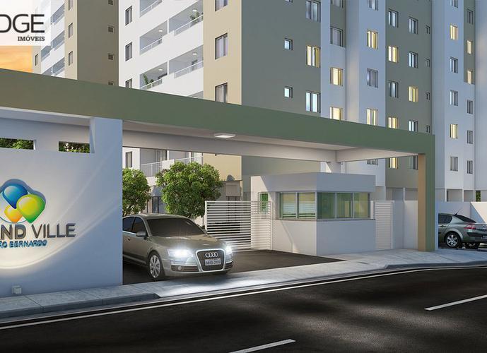 Apartamento a Venda no bairro Centro em São Bernardo do Campo - SP. 1 banheiro, 2 dormitórios, 1 vaga na garagem, 1 cozinha,  área de serviço,  sala de estar,  sala de jantar.
