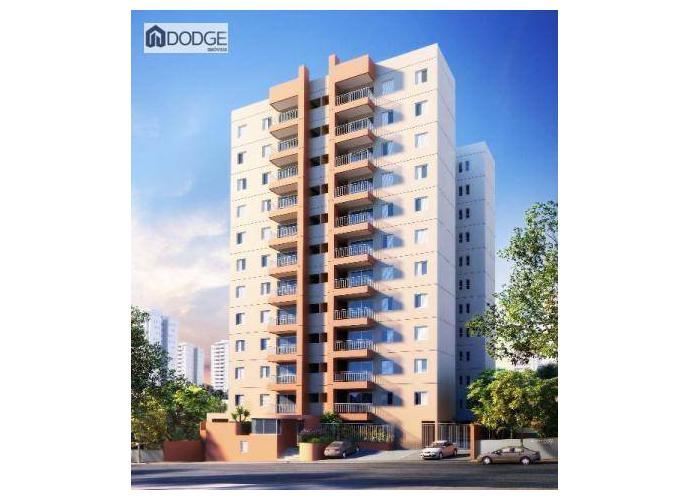 Apartamento a Venda no bairro Centro em São Bernardo do Campo - SP. 2 banheiros, 2 dormitórios, 1 suíte, 1 vaga na garagem, 1 cozinha,  área de serviço,  sala de tv,  sala de jantar.
