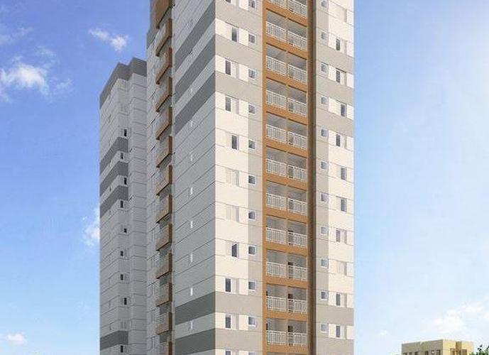 Apartamento a Venda no bairro Vila Príncipe de Gales em Santo André - SP. 1 banheiro, 1 dormitório, 1 vaga na garagem, 1 cozinha,  área de serviço,  sala de tv,  sala de jantar.