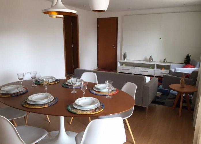 Apartamento Mobiliado e Decorado 3 Suítes 136 m² na Vila Valparaíso - Santo André.