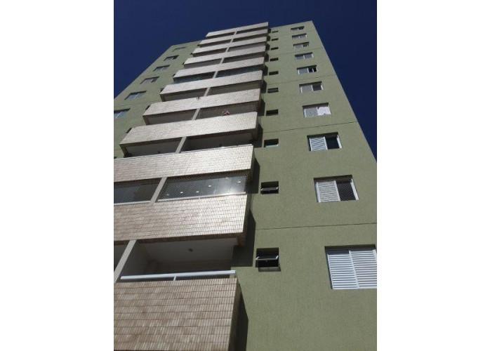 Apartamento 3 Dormitórios 98 m² no Bairro Campestre - Santo André Sala ampla 2 ambientes com varanda gourmet, copa/cozin