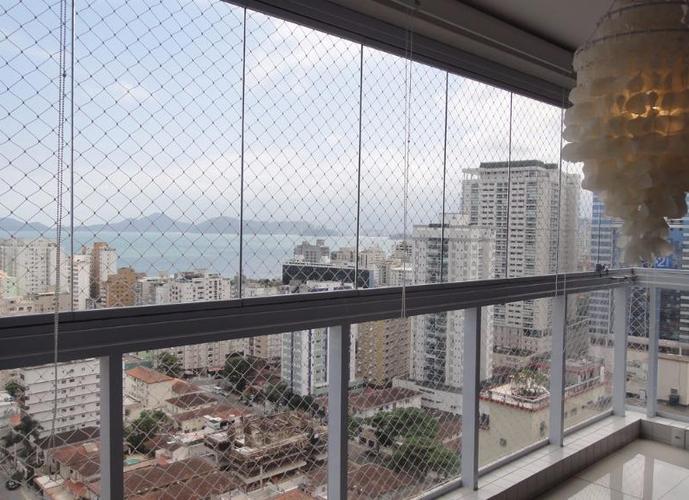 Apartamento residencial à venda, Aparecida, Santos - AP0246.