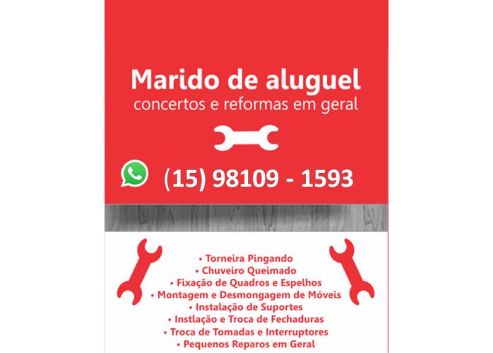 REPAROS EXPRESS MARIDO DE ALUGUEL EM SOROCABA