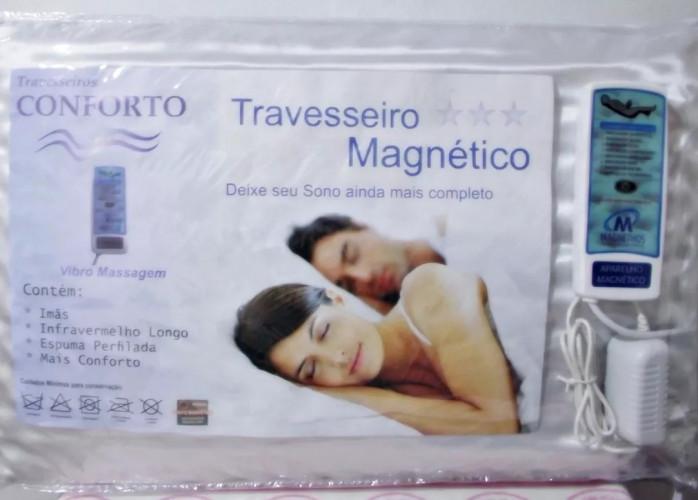 Travesseiro Massageador com InfraVermelho Longo