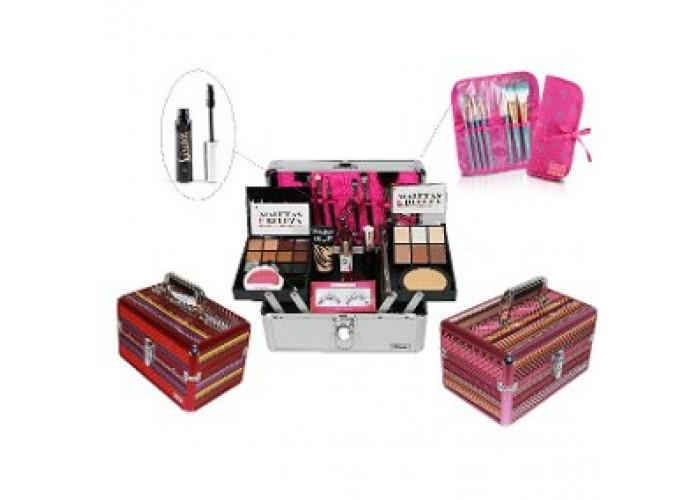 Maleta +kit Maquiagem Completo Ruby Rose Luisance Brinde Original