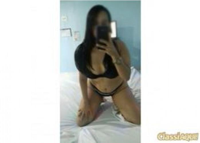 Luna Ninfetinha de 19 anos iniciante $80,00 Meia Hora com Local incluso.