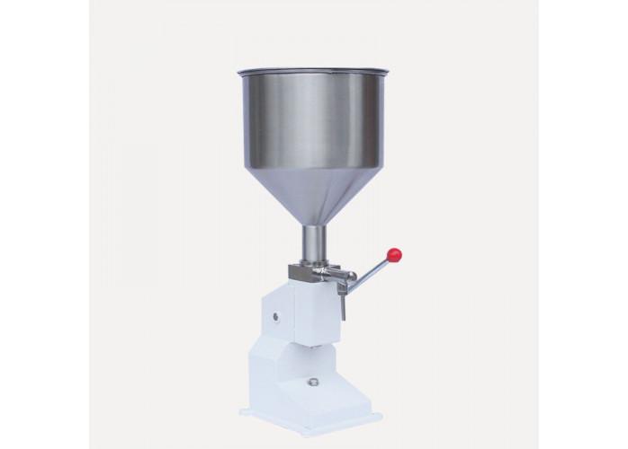 Máquina Manual de enchimento de alimentos de pressão.