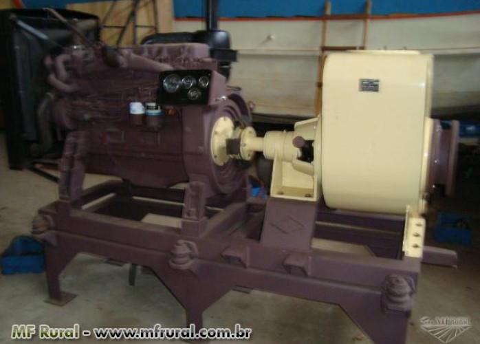 Conjunto MotorBomba Auto-Escorvante com Motor Diesel (Cód. 872312)