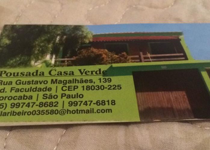 casa Verde Rua Gustavo Magalhães 139 jd Faculdade!