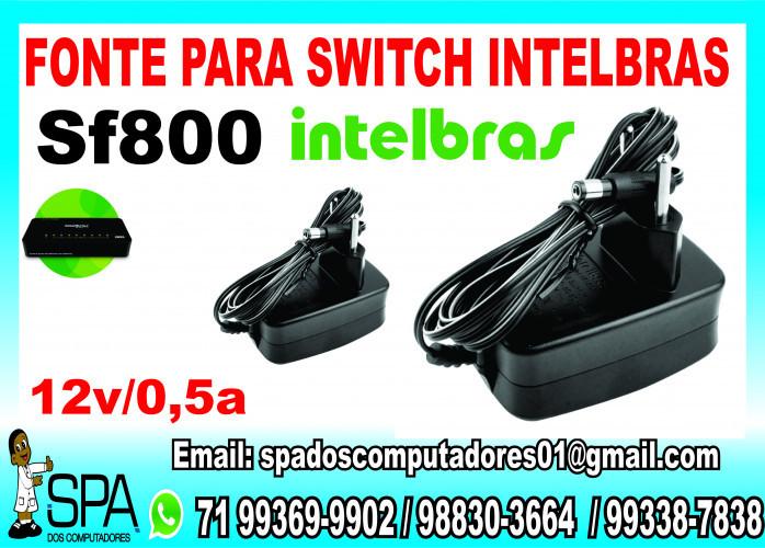 Fonte para Switch Intelbras Sf 800 em Salvador Ba