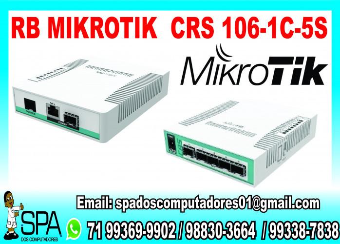 Rb Mikrotik RouterBoard CrS106-1C-5S em Salvador Ba