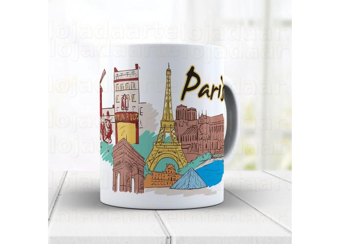 Caneca Paris cód: 1061g