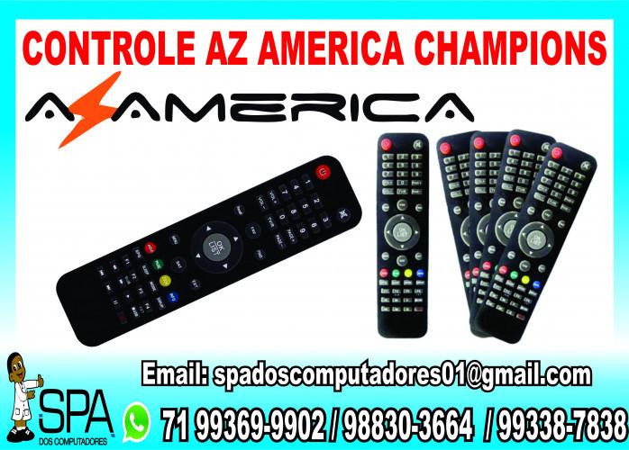 Controle Remoto para Receptores de Tv AzAmerica Champions em Salvador Ba