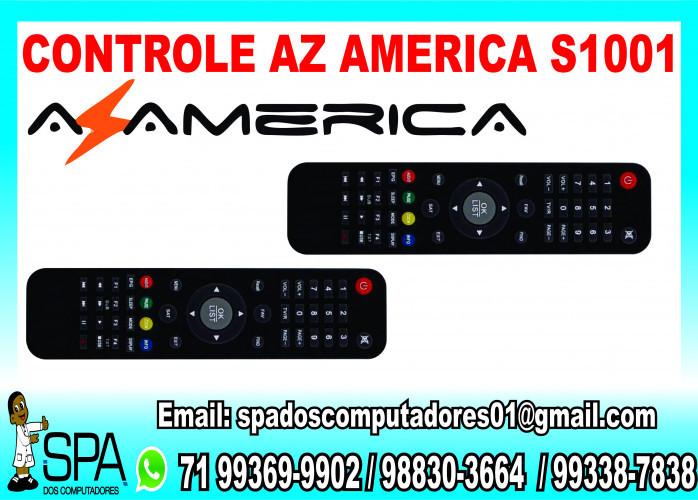 Controle Remoto Novo para Receptor de Tv AzAmerica S1001 em Salvador Ba