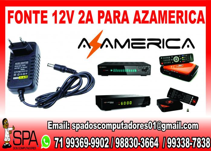 Fonte Nova de energia 12v-2a para Aparelho Az America em Salvador Ba