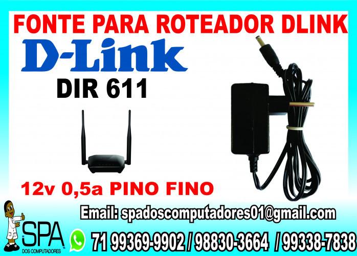Fonte Nova para Roteador D-Link 611 em Salvador Ba