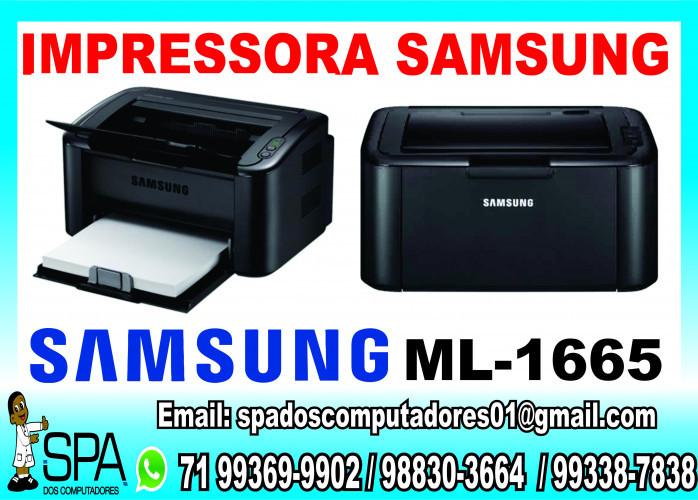 Impressora Samsung ML-1665 Seminova em Salvador Ba