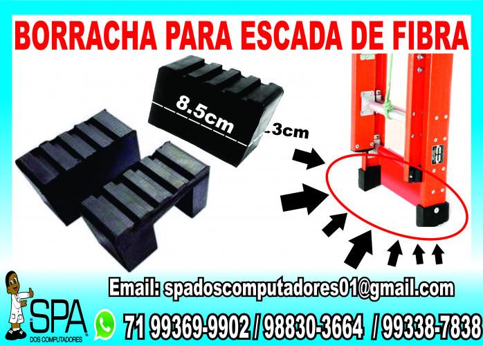 Pé de Borracha para Escada Extensível de Fibra em Salvador Ba