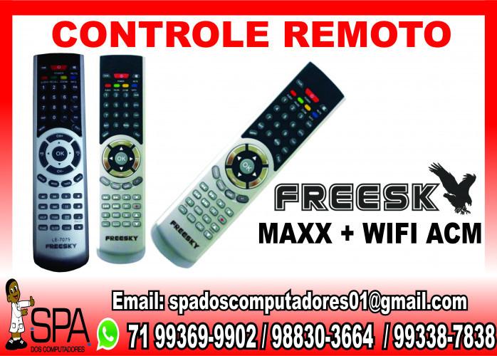 Controle Remoto Intelbras FreeSky Max + Wifi Acm em Salvador Ba