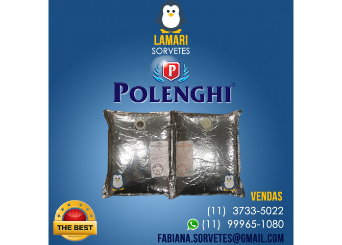 Calda POLENGHI UHT Melhor Preço e Qualidade - LAMARI DISTRIBUIDORA