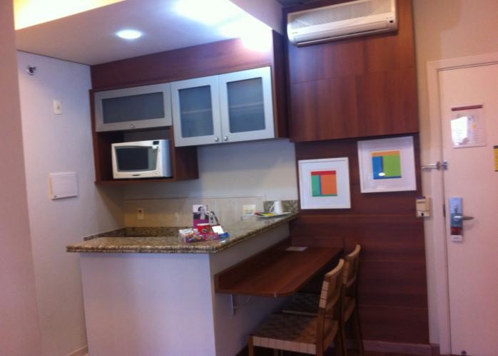 Excelente Apartamento tipo Flat Mobiliado 1 Suíte 40 m² em São Caetano do Sul - Bairro Barcelona.
