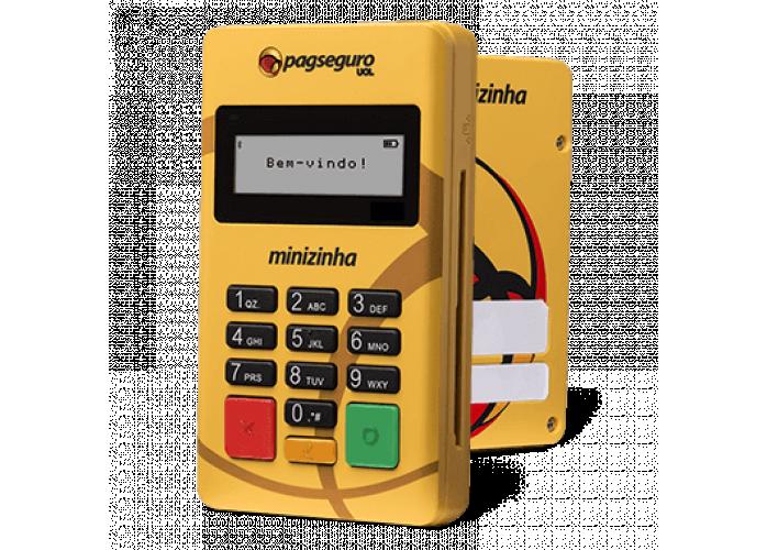 Eu lhe ofereço maquininha leitor de cartão de crédito e débito automático do pagseguro ajudando você
