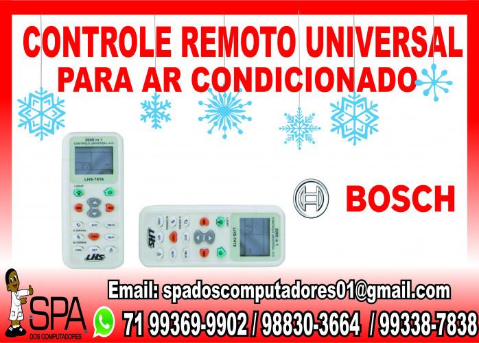 Controle Remoto Universal para Ar Condicionado Bosch em Salvador Ba