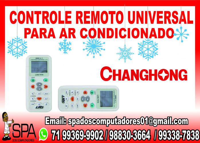 Controle Remoto Universal para Ar Condicionado ChangHong em Salvador Ba