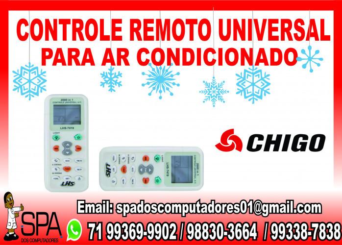 Controle Remoto Universal para Ar Condicionado Chigo em Salvador Ba