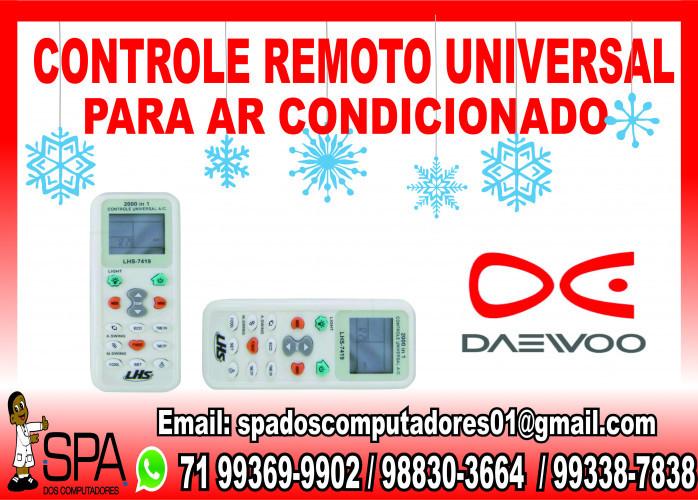 Controle Remoto Universal para Ar Condicionado Daewoo em Salvador Ba