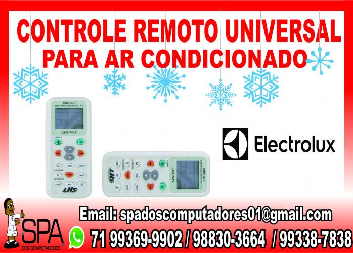 Controle Remoto Universal para Ar Condicionado Electrolux em Salvador Ba