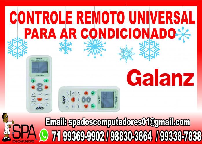 Controle Remoto Universal para Ar Condicionado Galanz em Salvador Ba