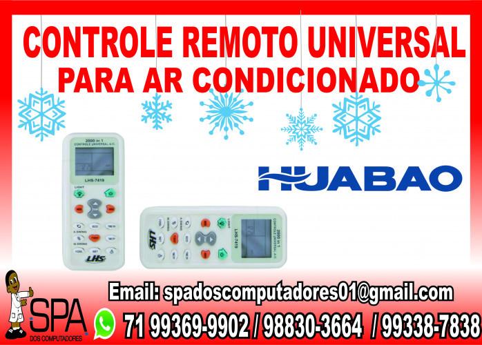 Controle Remoto Universal para Ar Condicionado Huabao em Salvador Ba