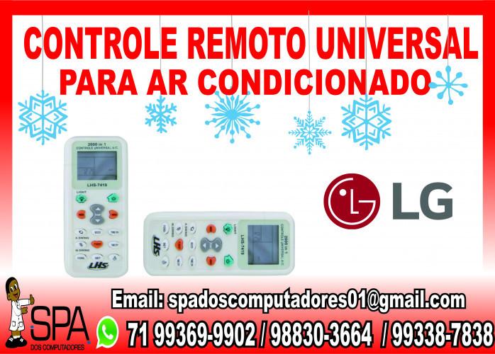Controle Remoto Universal para Ar Condicionado Lg em Salvador Ba
