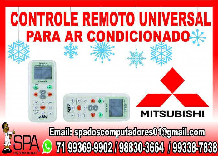 Controle Remoto Universal para Ar Condicionado Mitsubishi em Salvador Ba