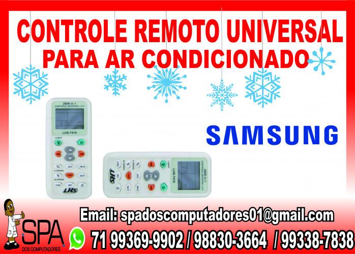 Controle Remoto Universal para Ar Condicionado Samsung em Salvador Ba