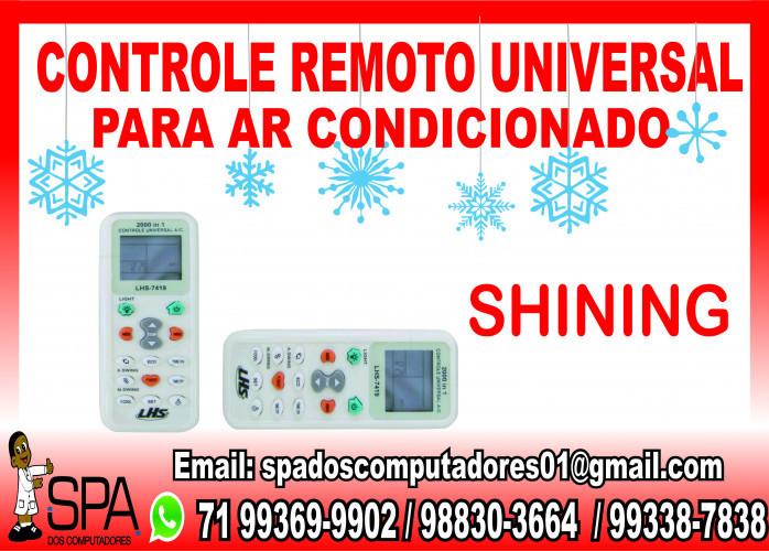 Controle Remoto Universal para Ar Condicionado Shining em Salvador Ba