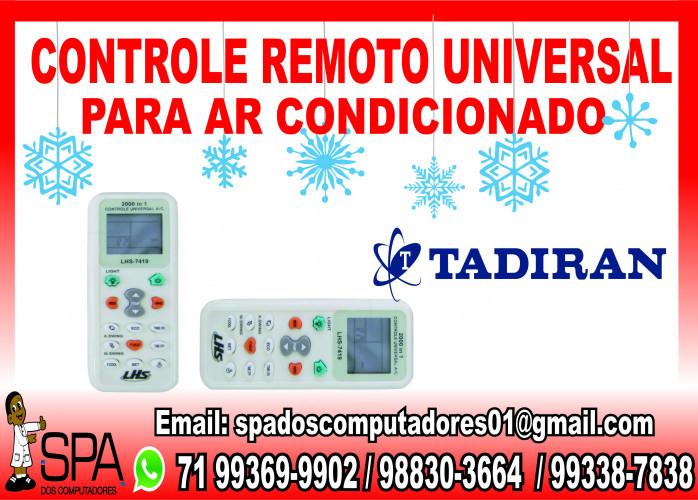 Controle Remoto Universal para Ar Condicionado Tadiran em Salvador Ba